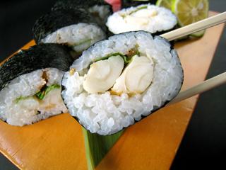 フグ巻き寿司