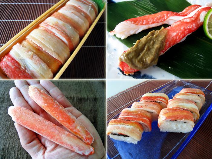ズワイガニ,ズワイガニ寿司,日本海産カニ