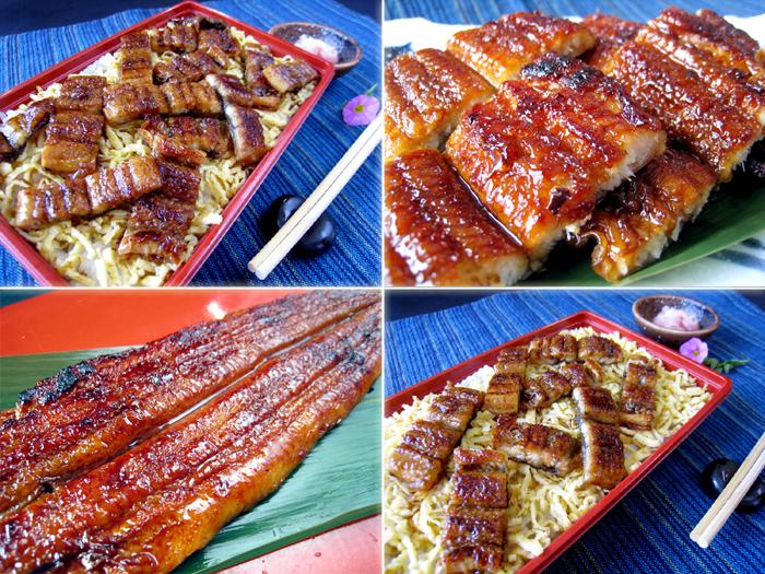 ウナギチラシ寿司